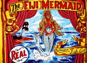 The Figi Mermaid , Steve Stones, carnival of chaos, carnival, ogden, freak show