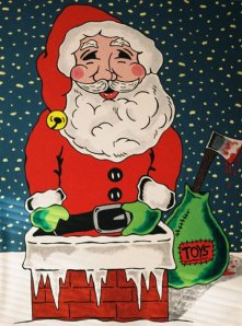 "Steve Stones ""Santa's Bloody Night."""