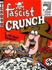 Fascist, swashtika, crunch, cereal