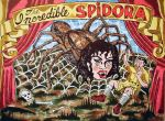 The Incredible Spidora by Ogden, Utah artist Steve Stones