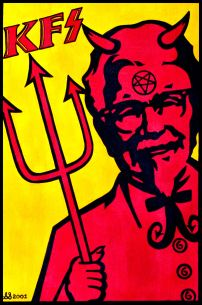Kentucky Fried Satan Parody by Steve Stones