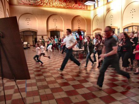 Ogden Union Station's 2012 Secret Art Exhibit Race