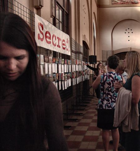 Ogden Union Station's 2012 Secret Art Exhibit, in which Utah artist Steve Stones participated