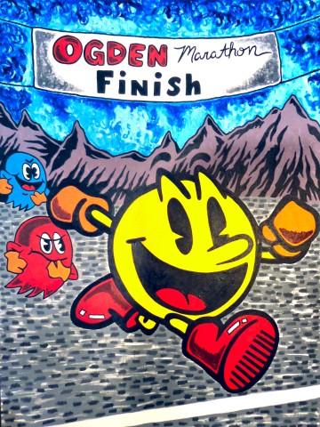 G.O.A.L. Foundation Ogden Marathon Steve Stones Pac Man