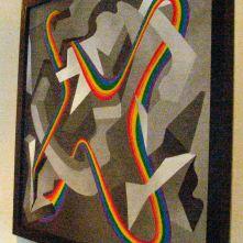 Steve Stones, Steve D. Stones, Steven Stones,Artist Steve Stones at LGBT Show in Salt Lake City, Utah.