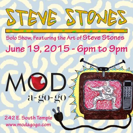 Steve Stones at Mod A go go