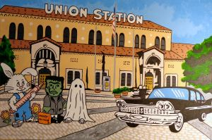 Union Station/Historic 25th Street, Ogden Steve Stones